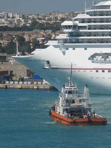 Mediterranean Cruises Ship Rhodes Greece
